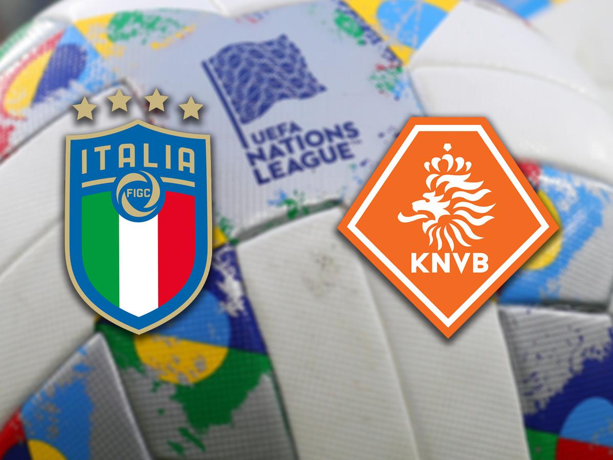 Italië - Oranje.