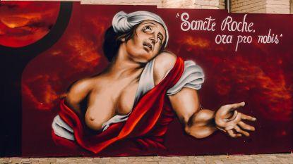 Stel een goede daad en ga met Rubens-straatkunst naar huis