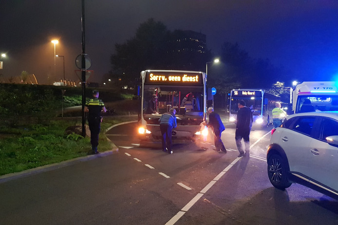 Ongeval met RET bus