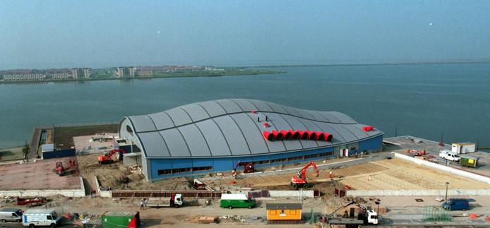 Bij de bouw van het zwembad in Bergen op Zoom ging het al mis.
