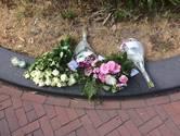 Kleine gedenkplek bij huis gedode Laura (24)