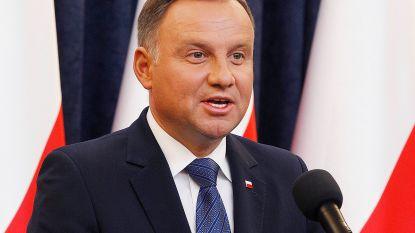 """Poolse president Duda stelt veto tegen kieswet die """"kleine partijen uitsluit"""" bij Europese verkiezingen"""