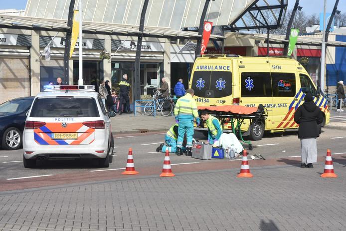 De scooterrijder is zwaargewond geraakt bij het ongeval in Terneuzen