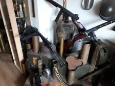 Wapens en munitie uit Tweede Wereldoorlog gevonden in woning Kaatsheuvel