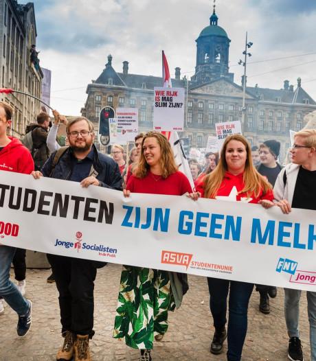 Studenten Nijmegen vandaag in actie