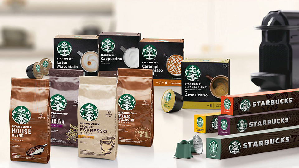 Starbucks koffie supermarkt