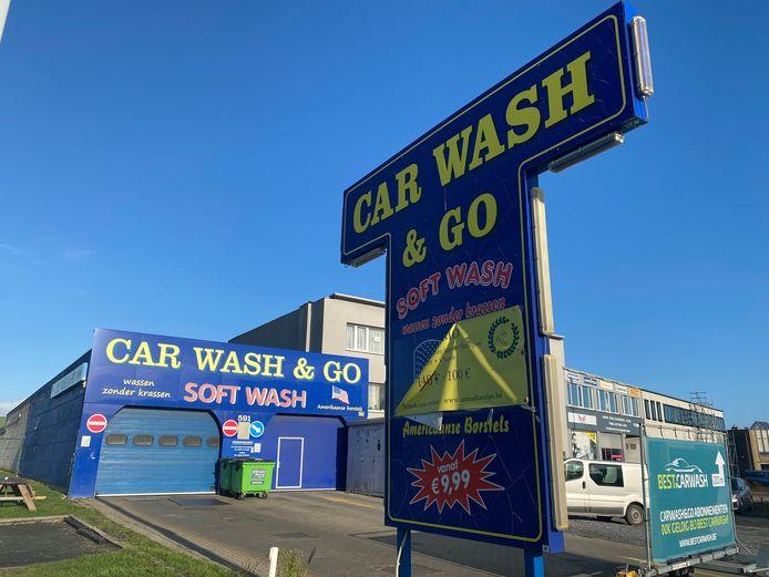 De 'oude' carwash is inmiddels dicht.