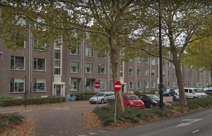 Burgemeester Pruissingel in Vlaardingen.