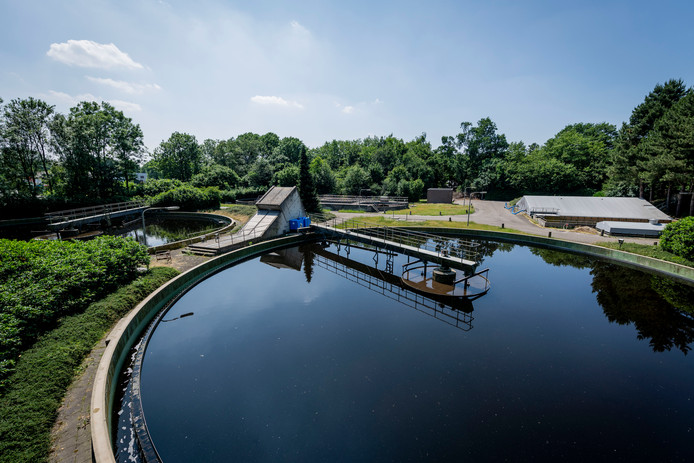 De rioolwaterzuivering hier in Vriezenveen