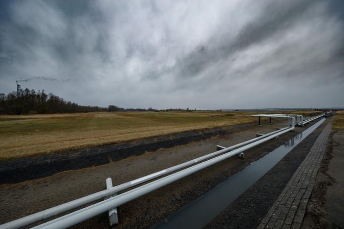 Shell Moerdijk gaat een groot zonnepark aanleggen op haar terrein, en we interviewden daar vandaag president-directeur Marjan van Loon over. In beeld het groen waarop de panelen zullen komen te liggen.