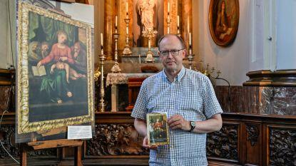 """Pastoor Jan Van Raemdonck schrijft boek over gestolen 'Michelangelo'-schilderij: """"Boek aangevuld met feiten en fictie over diefstal"""""""