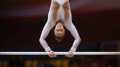 Nina Derwael triomfeert na het WK nu ook in de wereldbeker op de brug met ongelijke leggers