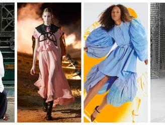 Van pofmouwen tot imkerhoeden: dit zijn de trends voor deze lente zoals gespot op de Paris Fashion Week