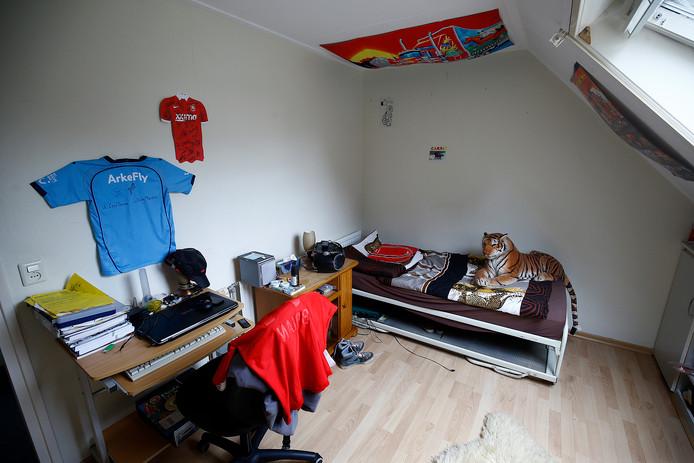 De kinderen en jongeren die in Dushi Huizen komen te wonen, krijgen daar hun eigen slaapkamer.