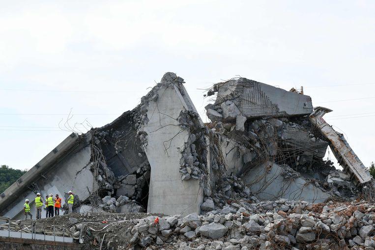 De Morandibrug in Genua stortte in op 14 augustus 2018. Sindsdien is de staat van de wegeninfrastructuur in Italië een grote zorg.