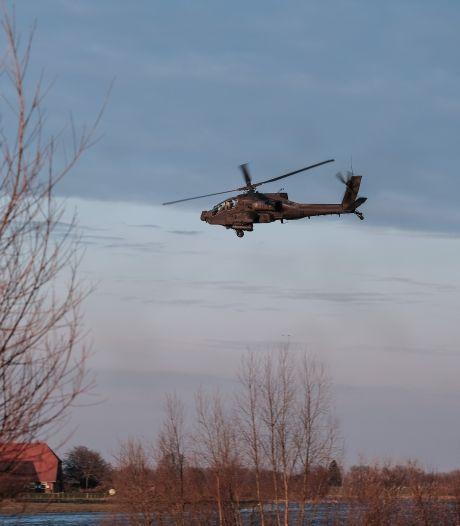Apaches en jachtvliegtuigen oefenen komende week boven De Peel
