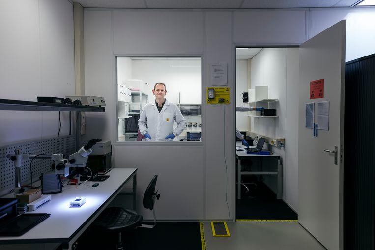 In de labruimte ligt, links, het nieuwste model. Beeld Lars van den Brink