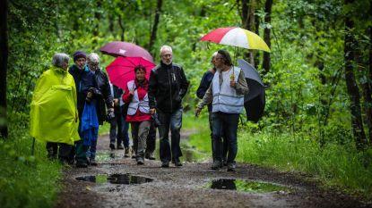 Grootouders voor het Klimaat maken protestwandeling tegen kap Groene Delle