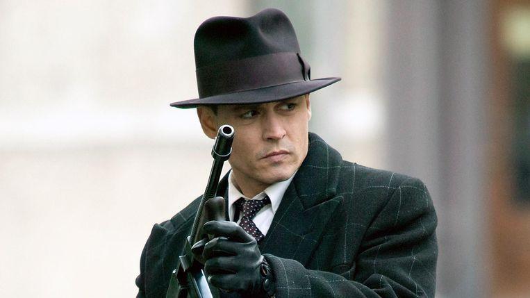 Johnny Depp in Public Enemies van Michael Mann. Beeld