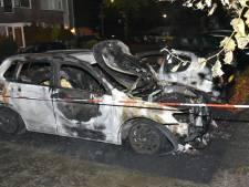 Auto's zwaar beschadigd door brand in Nijmegen