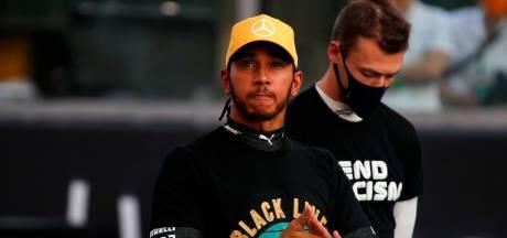 Hamilton hoopt nog voor kerst op nieuw contract bij Mercedes: 'We zijn nog niet klaar'