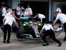 'Meesterzet' brengt Lewis Hamilton 80ste pole