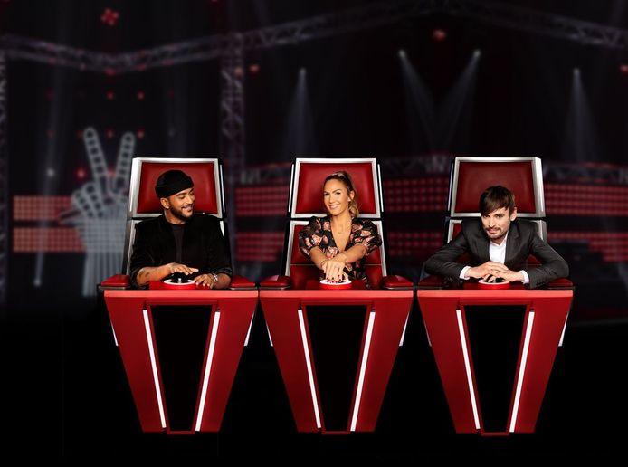"""Slimane, Vitaa et Matthew Irons étaient les jurés de """"The Voice Kids""""."""