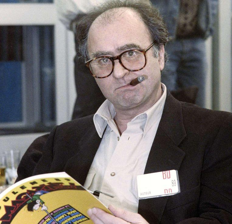 Georges Wolinski, een van de slachtoffers, in 1989. Beeld afp