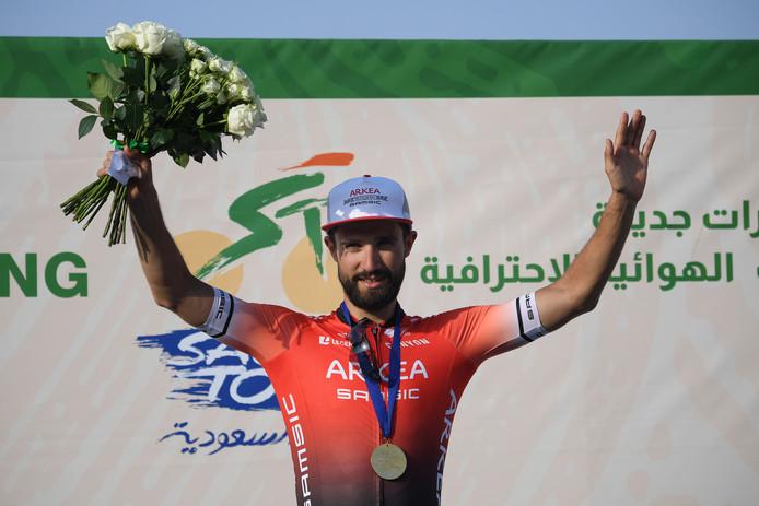 Première victoire pour Nacer Bouhanni sous les couleurs d'Arkenna-Samsic.