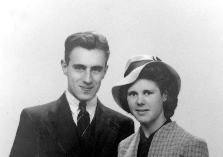 Cornelis van der Horn met zijn echtgenote Beeld /