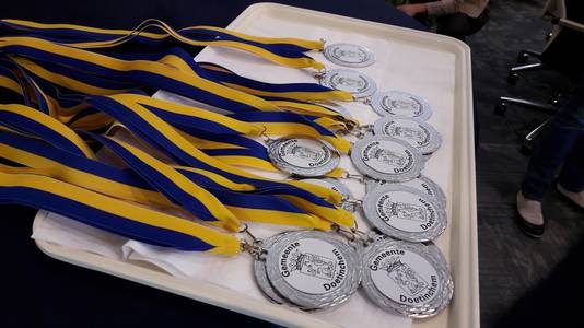 Gemeentelijke medailles voor de volleyballers van Orion.