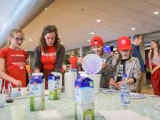 Schöppert uit Hengelo wint uitvinderswedstrijd met sproeiende robots