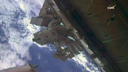 Ook astronauten verlaten al eens graag hun werkplek