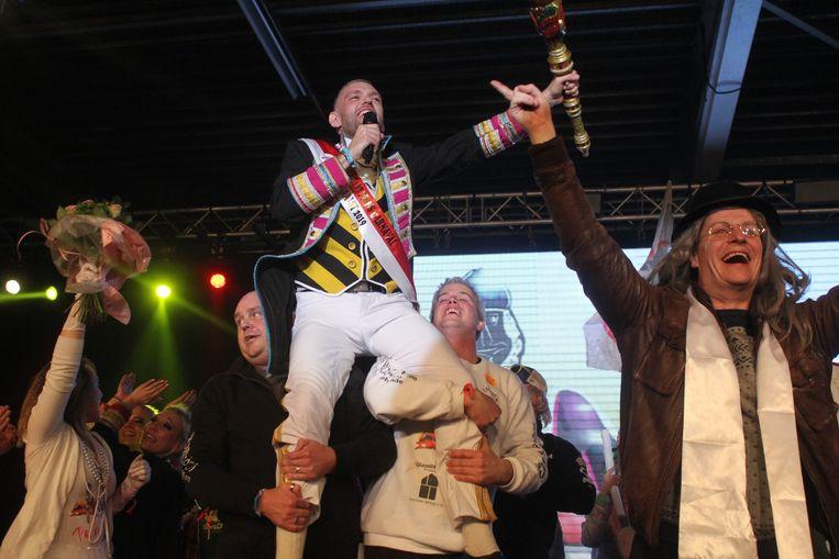 Bart De Meyst won vorig jaar de prinsenverkiezing.
