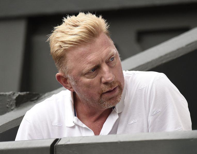 Boris Becker. Beeld anp