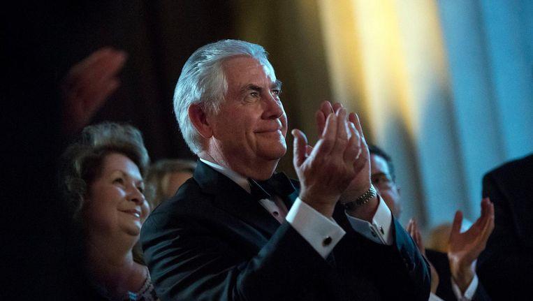 Rex Tillerson, de beoogde minister van Buitenlandse Zaken. Beeld photo_news