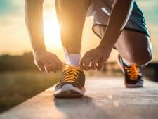 Samen hardlopen in IJsselstein tijdens coronacrisis, maar wel op veilige afstand van elkaar