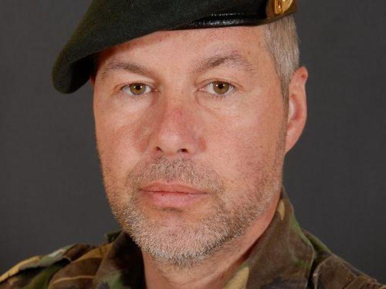 De 44-jarige sergeant-majoor Mark Leijsen is omgekomen in Afghanistan. ANP Beeld