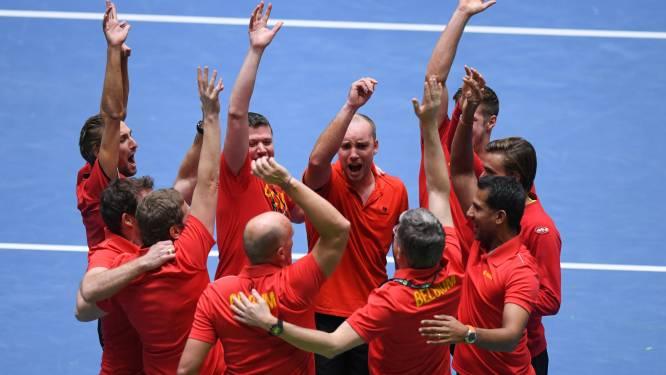 Belgische Davis Cup-mannen kijken taaie Italianen in ogen in kwartfinales
