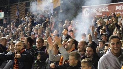 Eerste 'Lady's night' ooit bij SK Deinze: voetbal en bubbels voor de dames