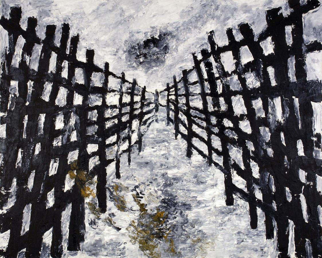Der Zaun, een van de werken uit de kerncollectie Armando.