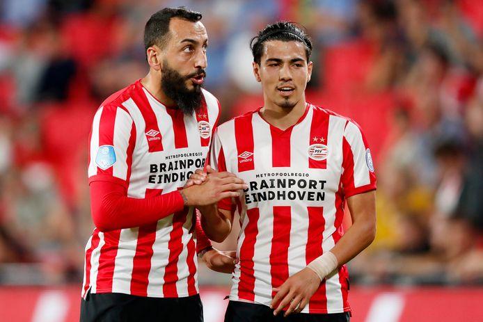 Kostas Mitroglou en Erick Gutiérrez