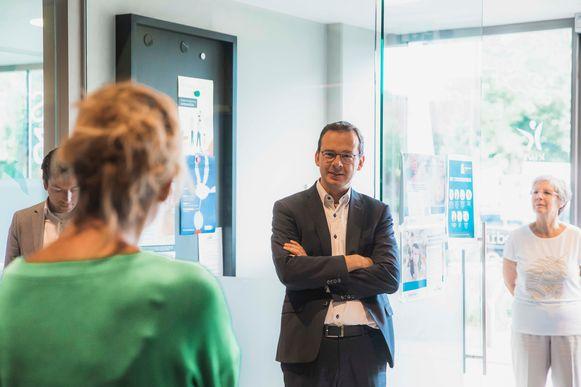 Vanochtend trok Vlaams minister Wouter Beke naar Campus O³ in Genk.
