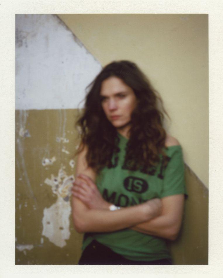 Anna Drijver, actrice. Cohen: 'Anna vertelde me achteraf dat ze eigenlijk nooit alleen met een camera is. Normaal is er een heel team bij.' Beeld Foto Daniel Cohen