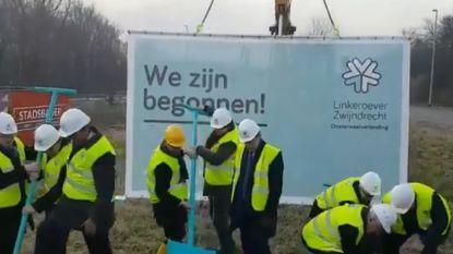 """Oosterweel: """"Schup in de grond"""" op Antwerpse Linkeroever"""