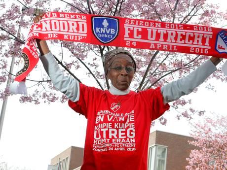 Super-supporter FC Utrecht Hetty (84) overleden