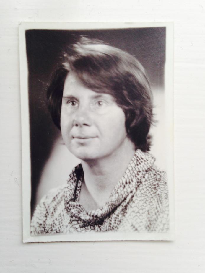 Portretfoto van Rudolphine 'Ruud' de Ranitz, uit Woerden.