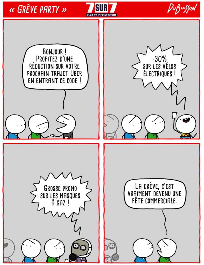 """""""Grève party"""""""