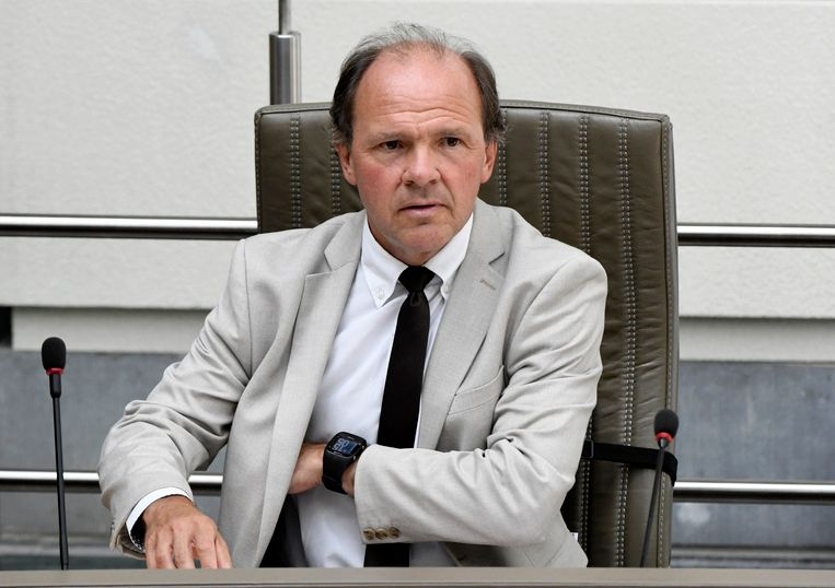 Minister van Sport Philippe Muyters.