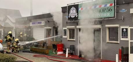 Uitslaande brand in Egyptisch restaurant Amon in Heeswijk-Dinther